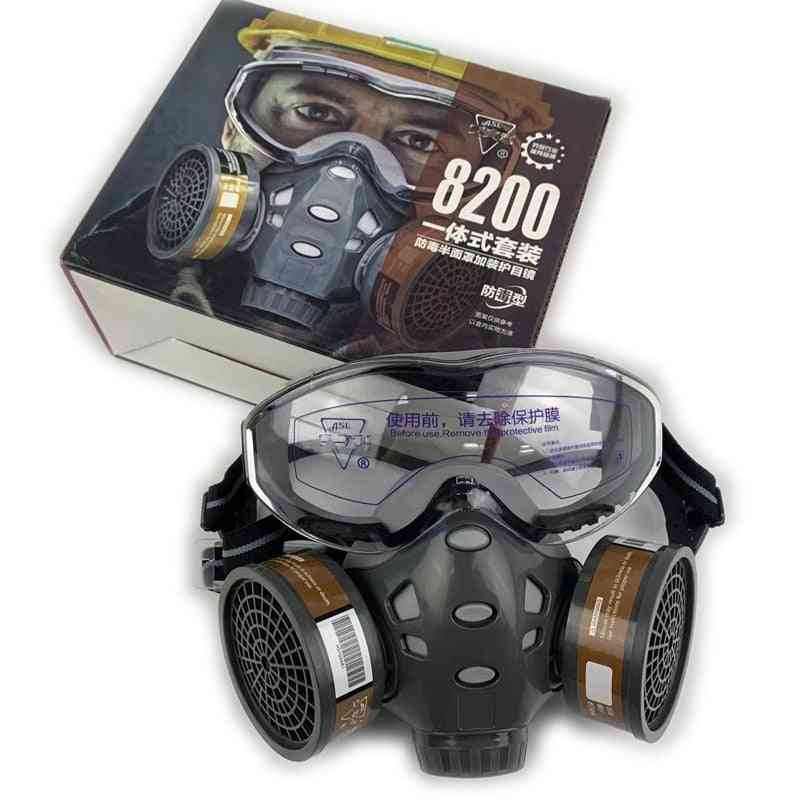Face Gas Mask  Glasses