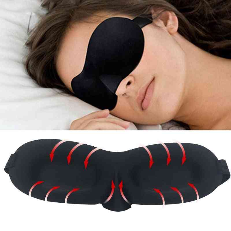 3d Sleeping Travel Rest Aid Eye Mask Cover Patch