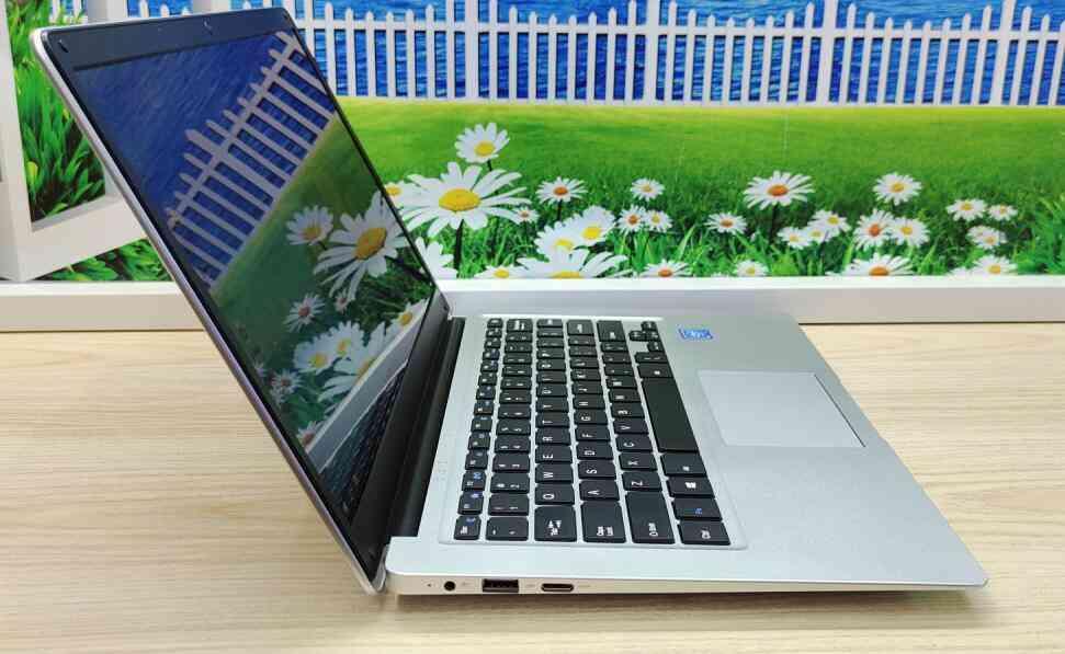 6g Ram 14.1 Inch Laptop Keyboard Netbook, Student Pc Computer