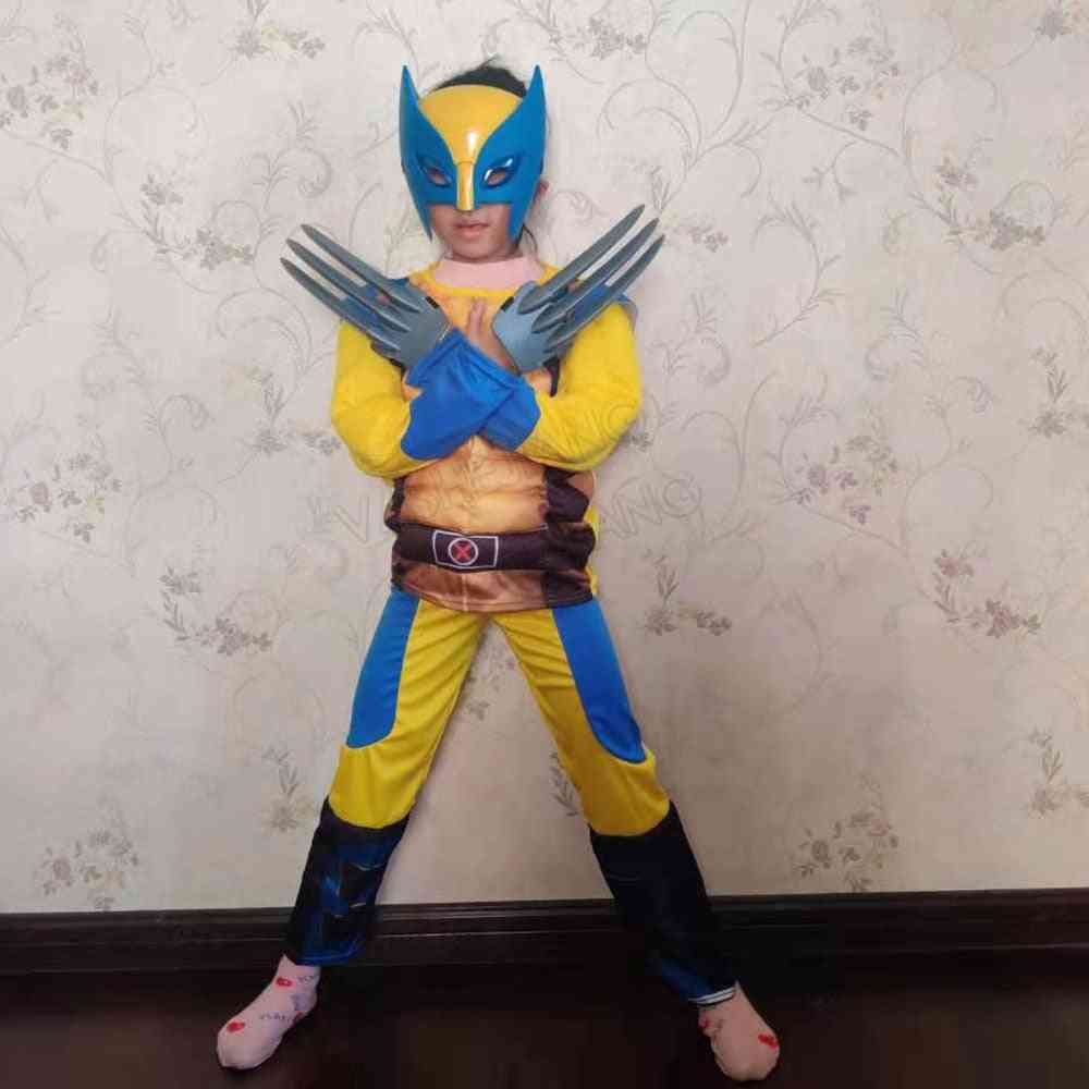 Super Hero Dress With Light Mask