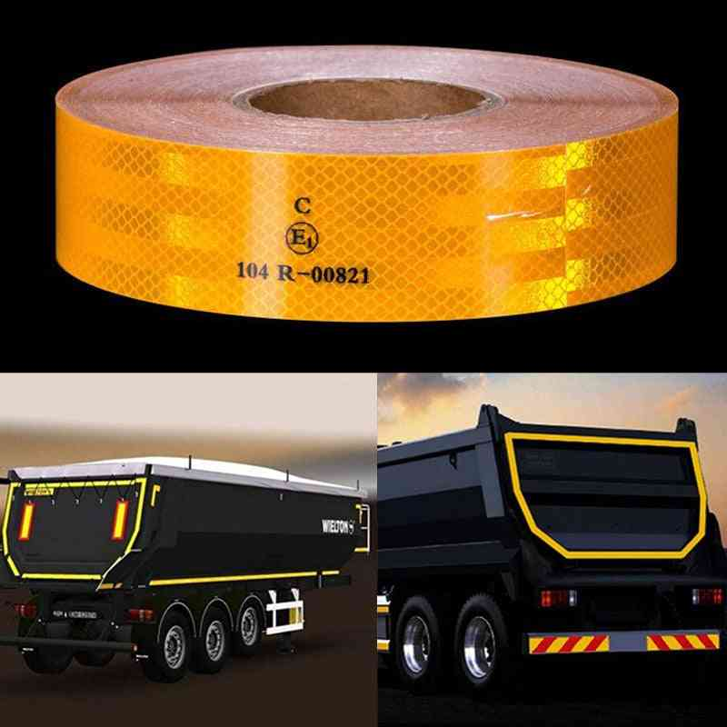 Reflective Safety Conspicuity Car Campers Boats Trailer Reflectors Warning Tape