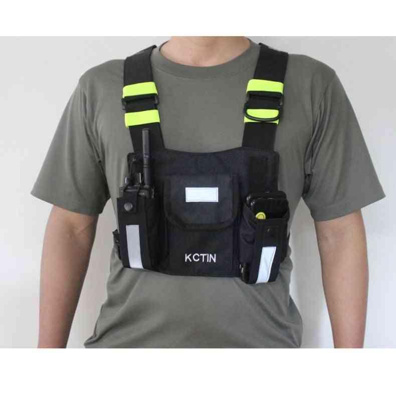 Reflective Construction Safety Vest