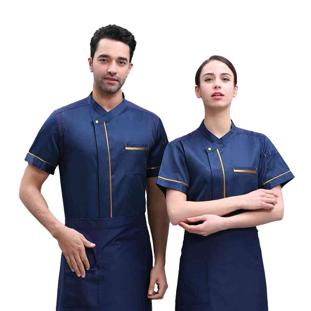 Breathable Chef Uniform Shirt