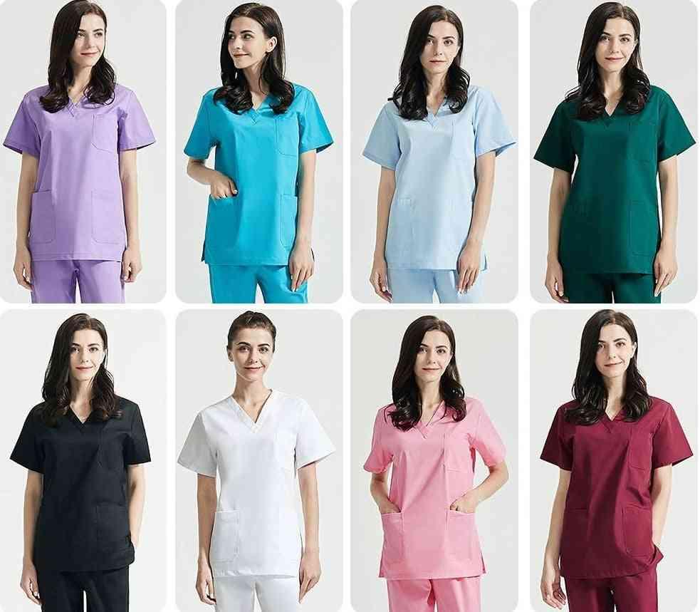 Polyester Cotton Solid Color Uniform
