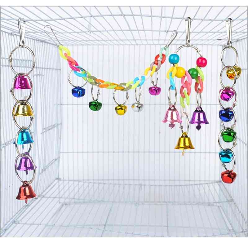 Parrot Colorful Bell Toy