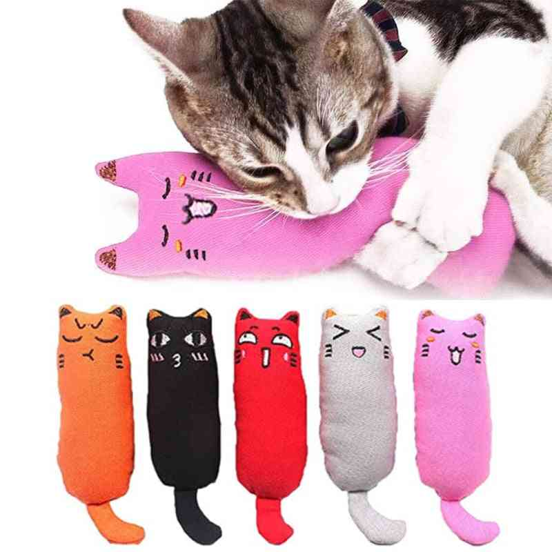 Rustle Sound Catnip Toy Cats Products For Pets Cute Cat For Kitten Teeth/cat Pillow