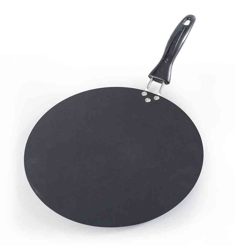 Upspirit 30cm Pancake Pan Iron Round Griddle Non-stick Crepe Pan For Egg Omelette Frying Gas Induction Cooker Cookware