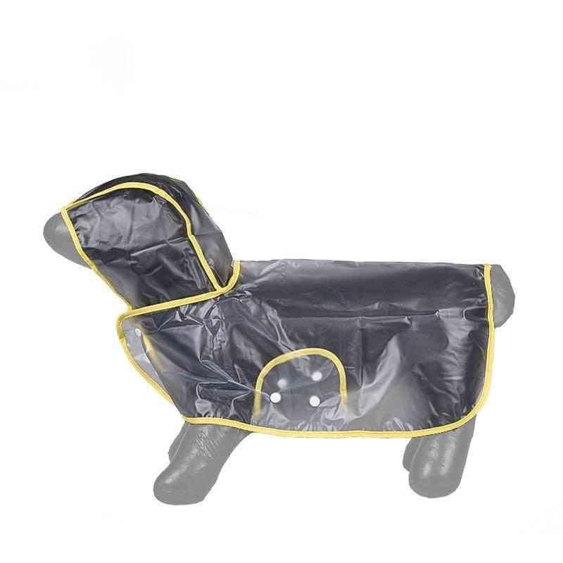 Dog Raincoat-yellow- (medium)