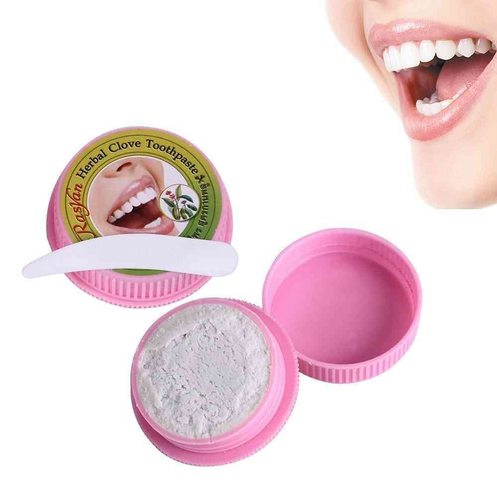 Natural Coconut Herb Clove Mint Flavor Tooth Paste Kit