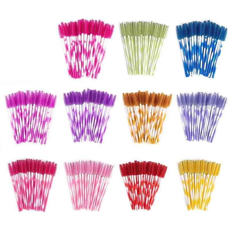 Disposable Colorful Eyelash Eyelash Extension Makeup Tool