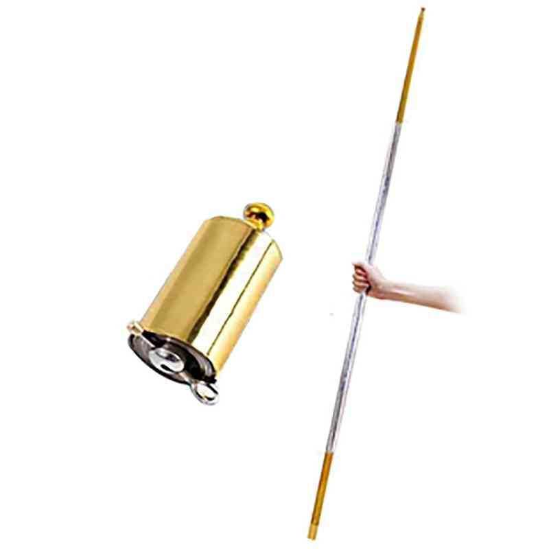 Portable Pocket Telescopic Rod Self Defense Protection Sticks Hollow Martial Arts Telescopic Stick Anti-wolf Stick