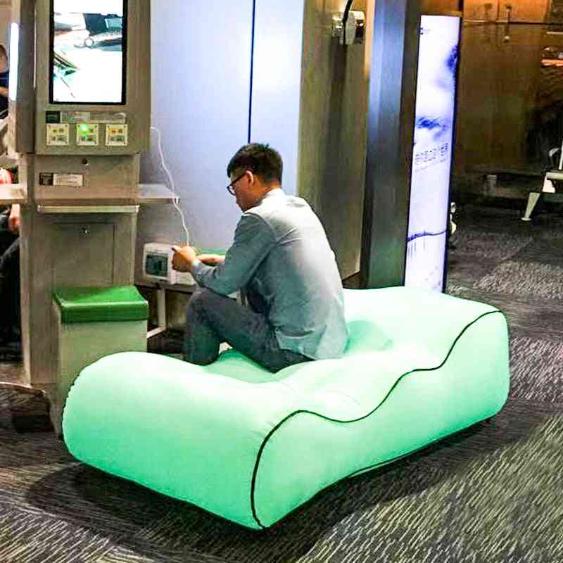 Inflatable Bed Seats Portable Air Sofa Chair