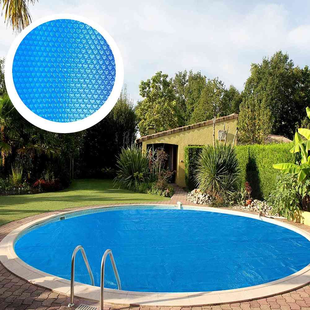 Pool Cover Swimming Round Pool Solar Waterproof Dust Protector With Rope Insulation Accessories For Home Indoor Outdoor
