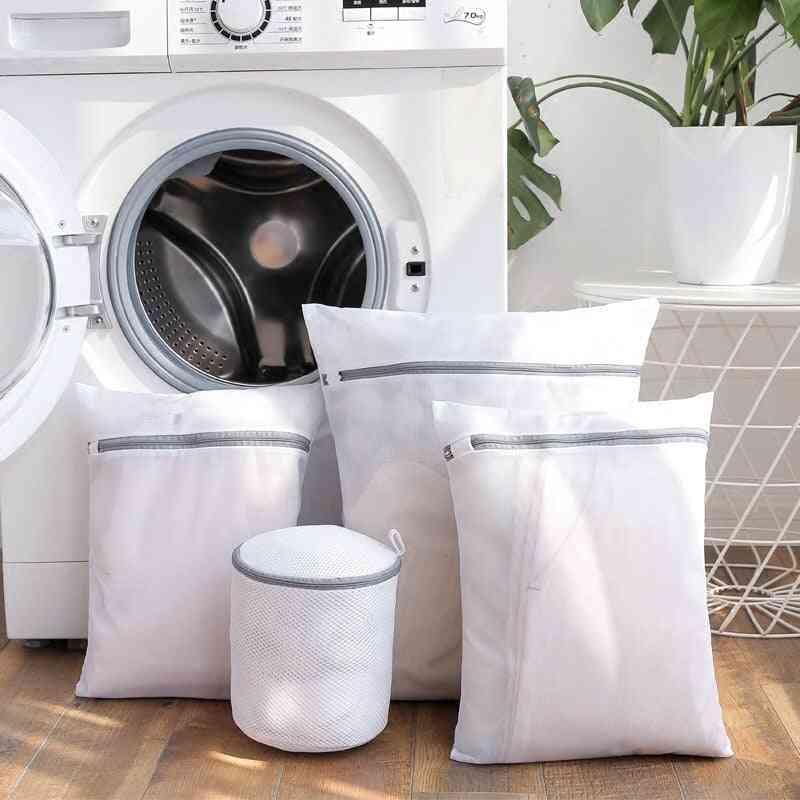 Zipper Mesh Laundry Bags