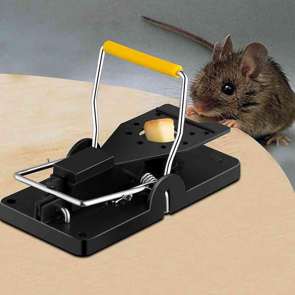 Reusable Rat Catching Mice Mouse Traps Mousetrap Bait Snap Spring Rodent Catcher Pest Control