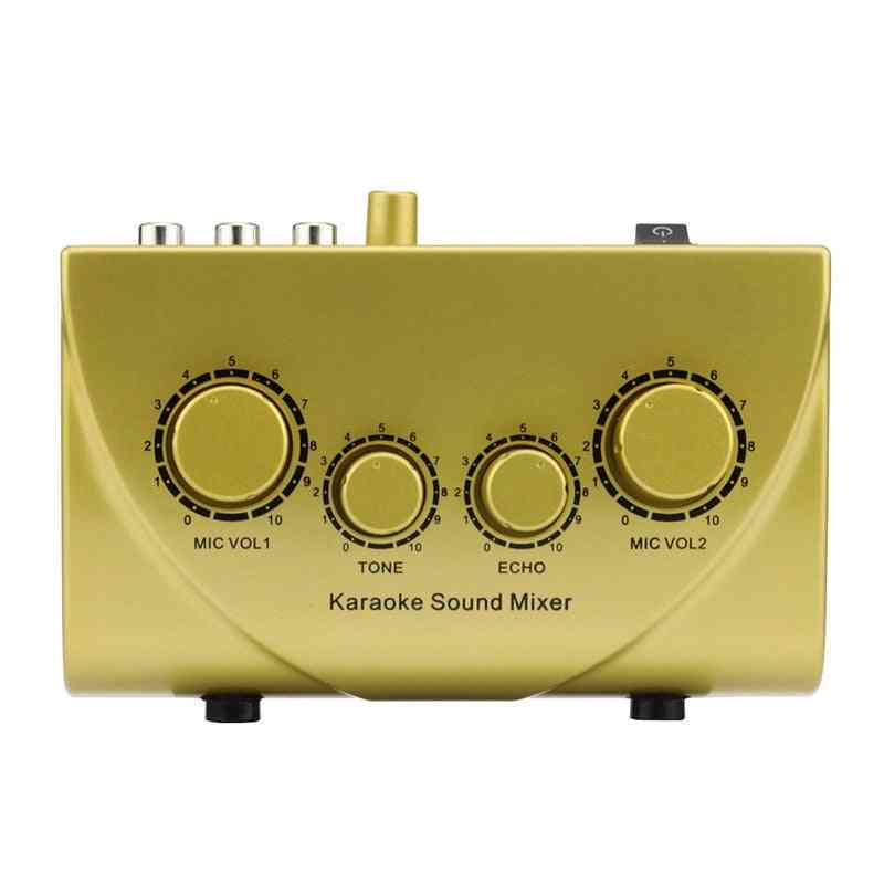 Audio Machine, Sound Echo Mixer, Digital System Devices, Microphone Console
