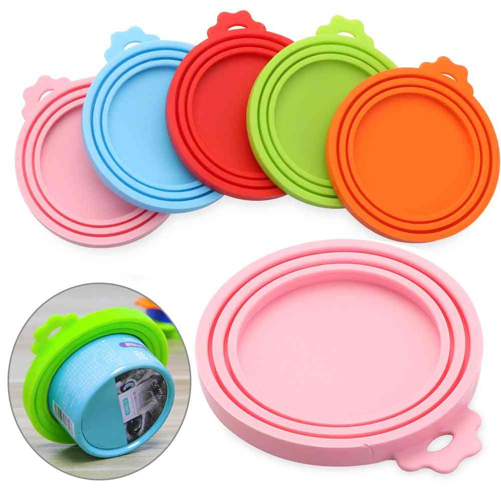 Silicone Can Lid Food Tin Cover Cans Cap