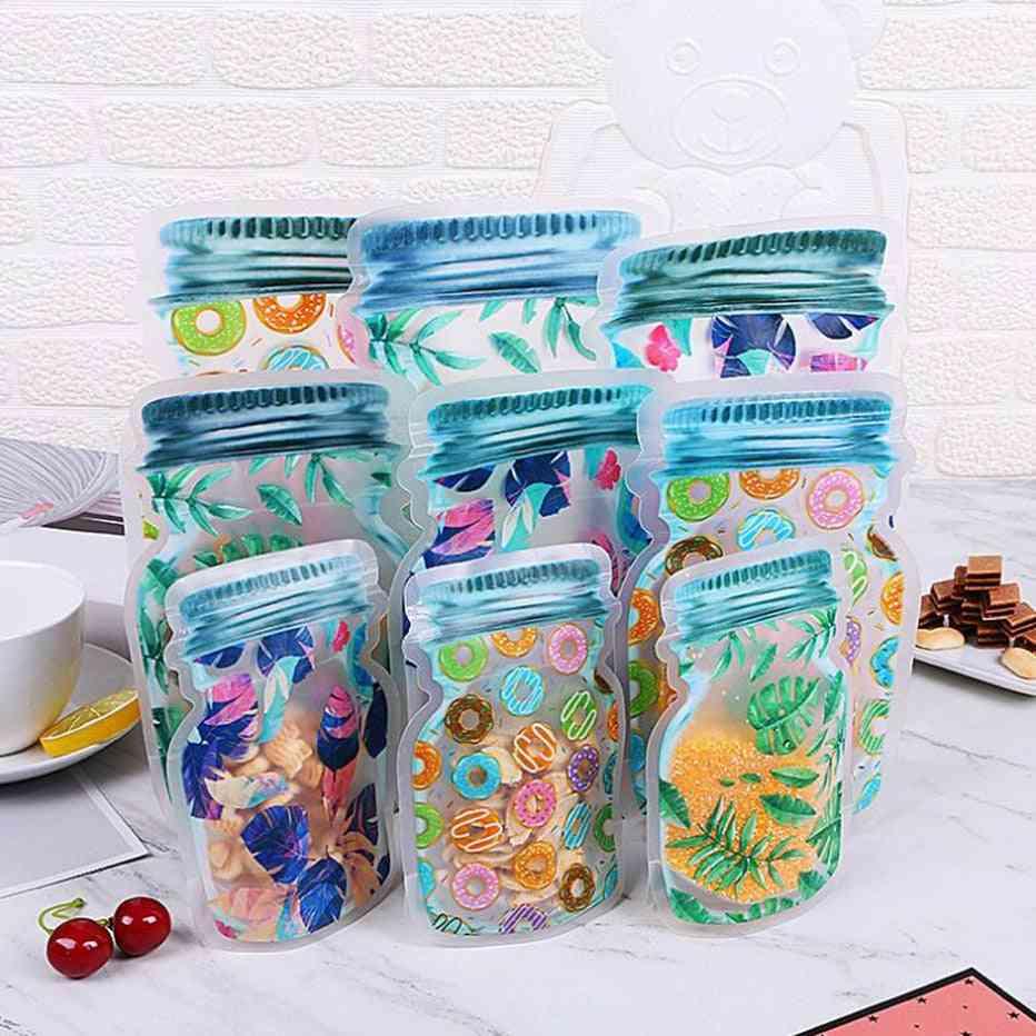 Storage For Food Nuts Snacks Reusable Waterproof Seal  Bag