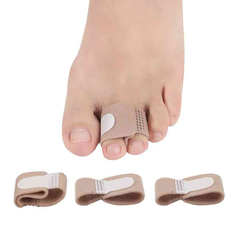 Feet Finger Corrector Insoles Fabric Gel Silicone Tube