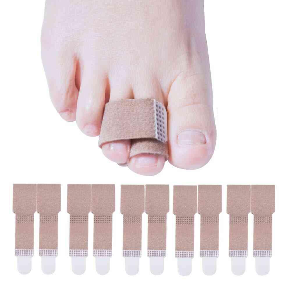 Velvet Cotton Material Toe Splint Straightener