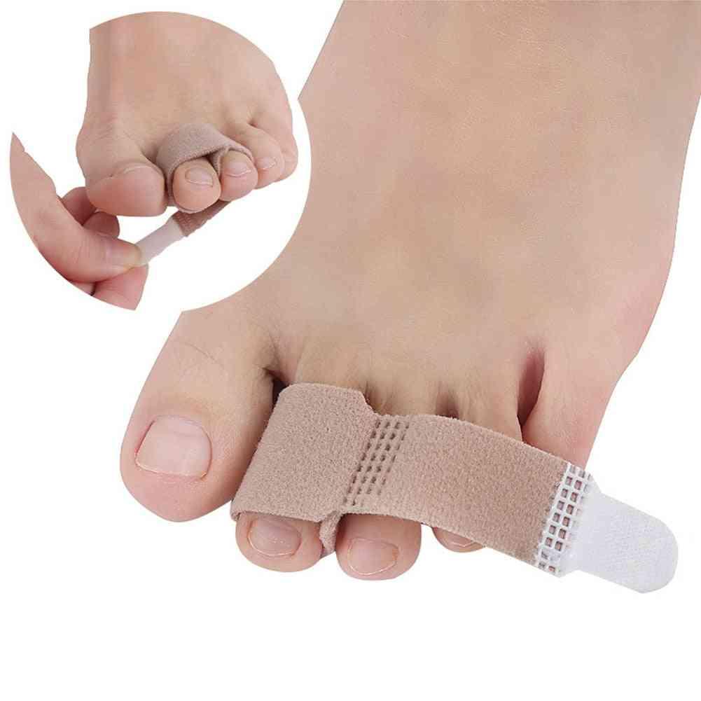 Toe Finger Separator Bandage Fabric Hallux Valgus Foot Care