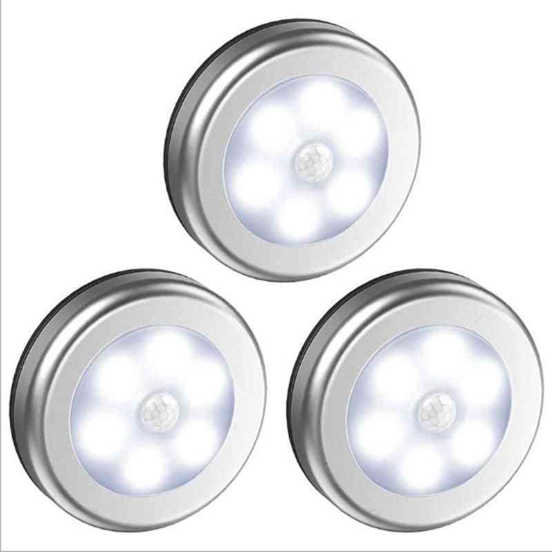 Pir Motion Sensor Under Cabinet Light Auto Smart Night Lamp Led For Home Bedroom Closet Kitchen Wardrobe Light