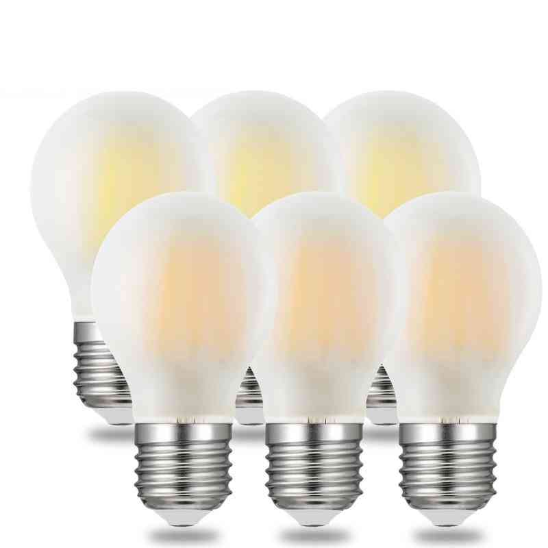 Dimmable Frosted Led Vintage Retro 110v 220v Filament Bulbs Lamp