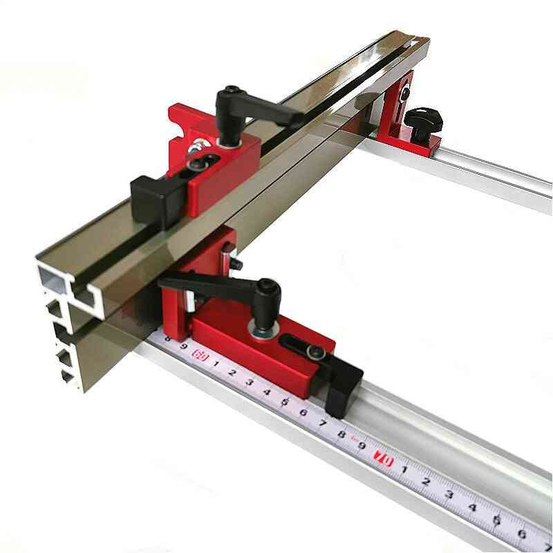 Fence Connector Alloy Miter Track Stop Block Saw Table