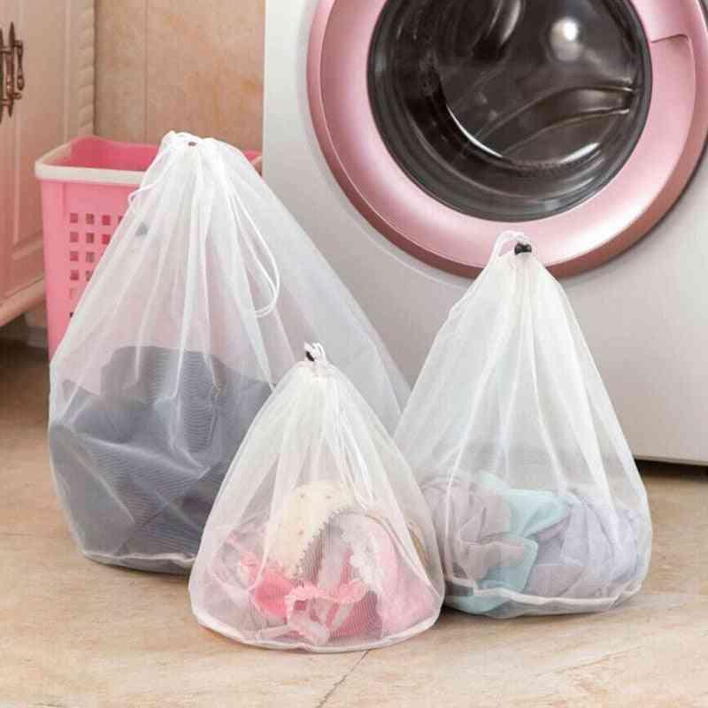 Bra Underwear Socks Foldable Mesh Laundry Bag