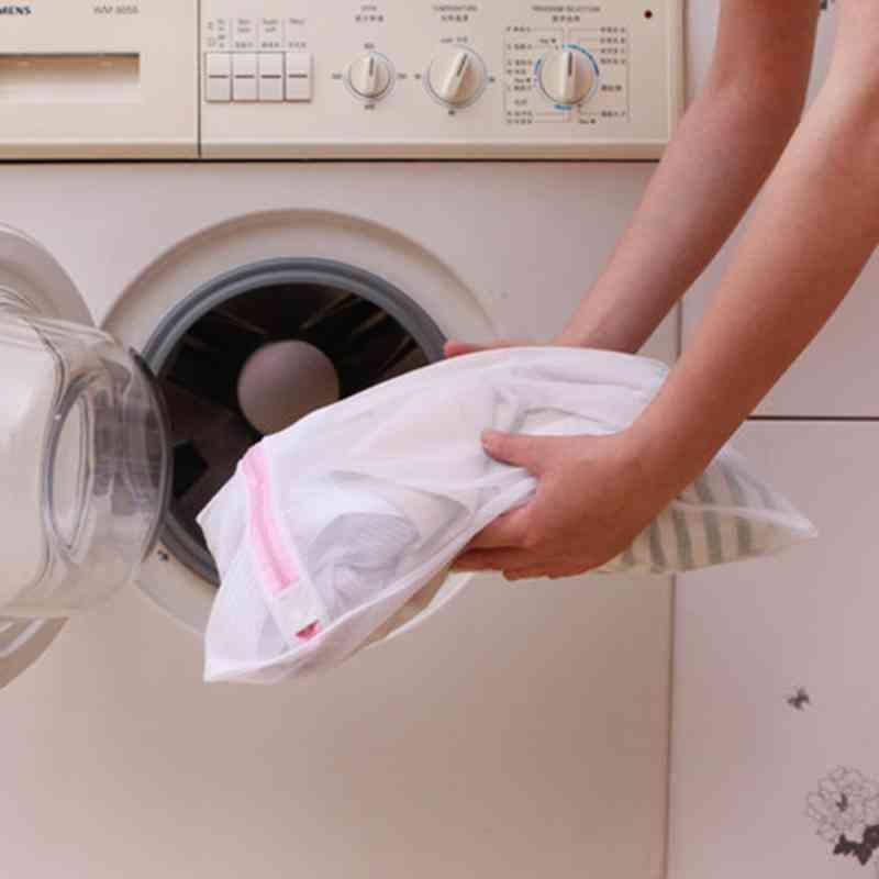 Polyester Mesh Laundry Bag, Washing Net Bag