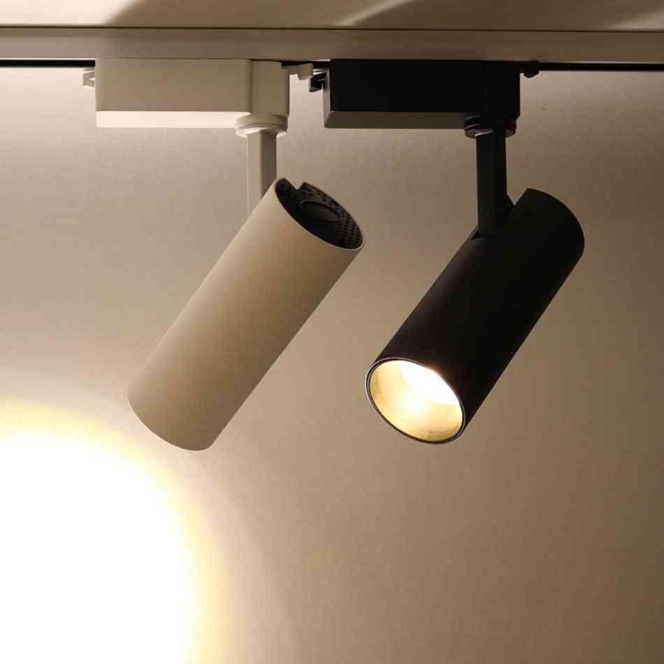 Rail Spotlights Replace Halogen Lamps