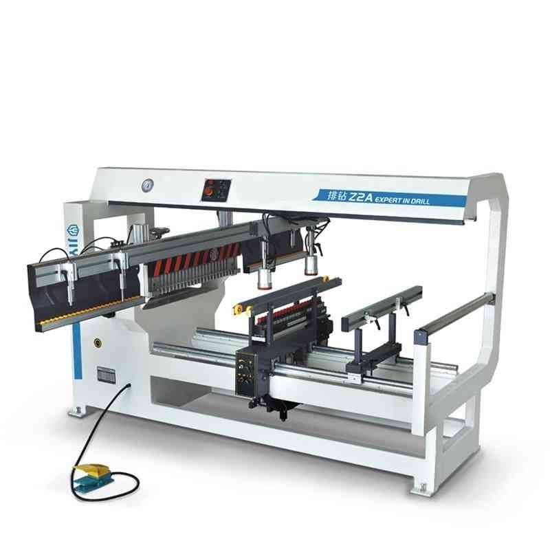 Wood Boring Machine Carpentry Woodworking Double Row Drill Gang Drill