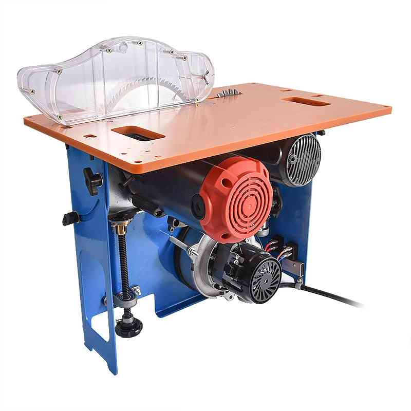 Multi-function Woodworking Table Saw Open-type Dustless