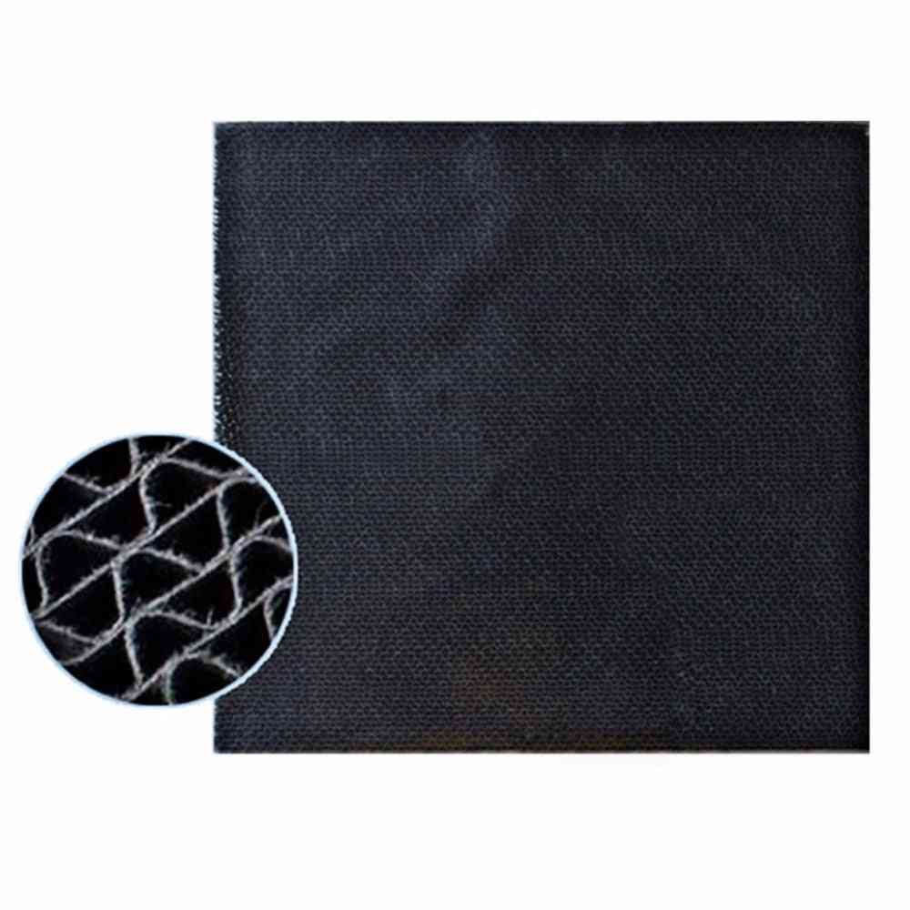 High Quality Black Deodorizing Catalytic Filter Parts