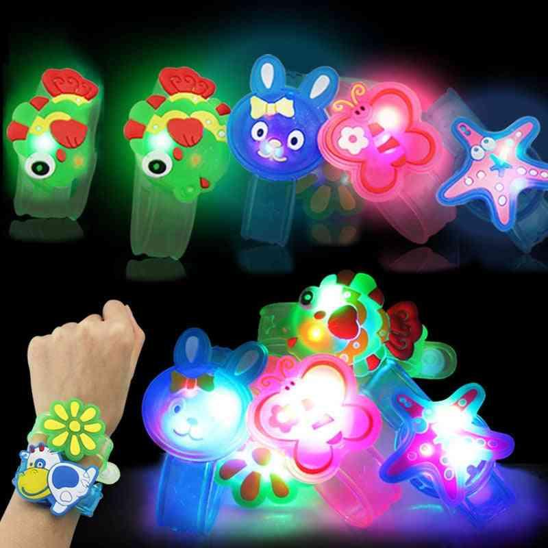 Led Light-up Colorful Luminous Wrist Band