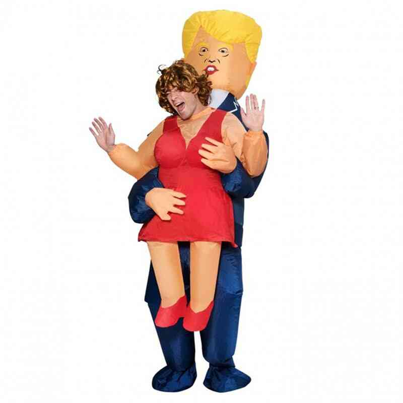 Donald Trump Pants, Party Dress Up Ride On Me Mascot Costumes