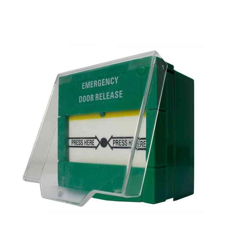Emergency Glass Break Fire Alarm Switch Door Release Urgent Button
