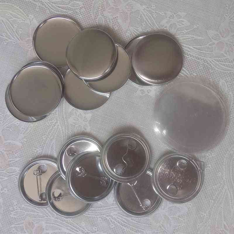 Metal Blank Badge Pin Button