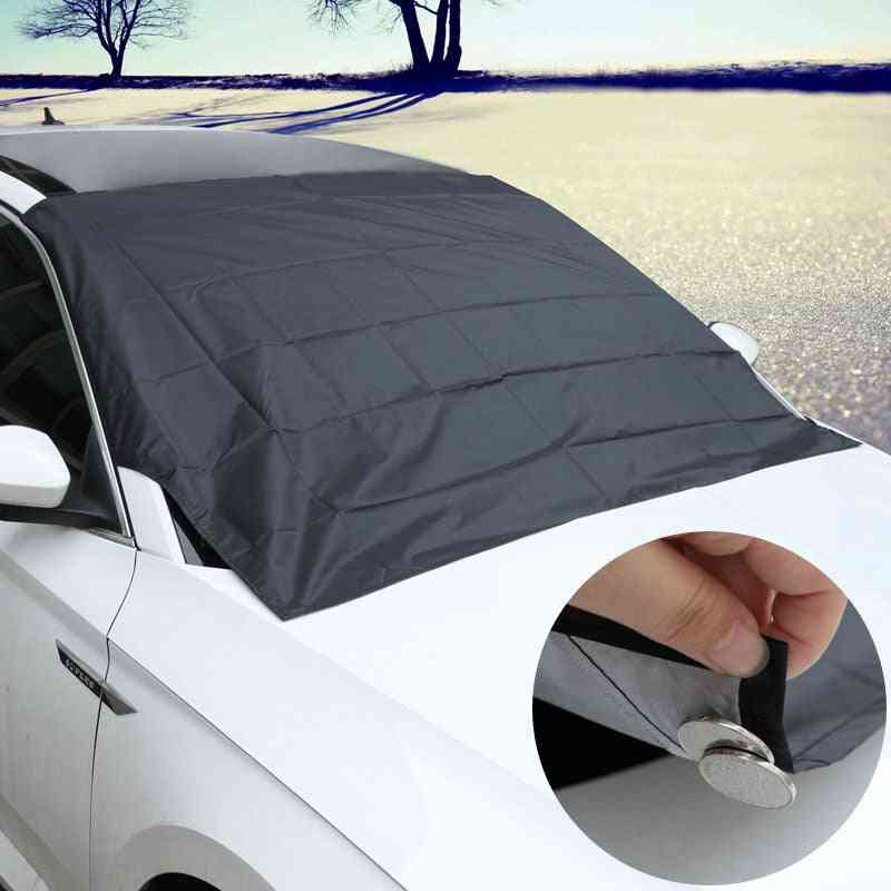 Car Strong Magnet Sunshade Windshield For Front Window Protection
