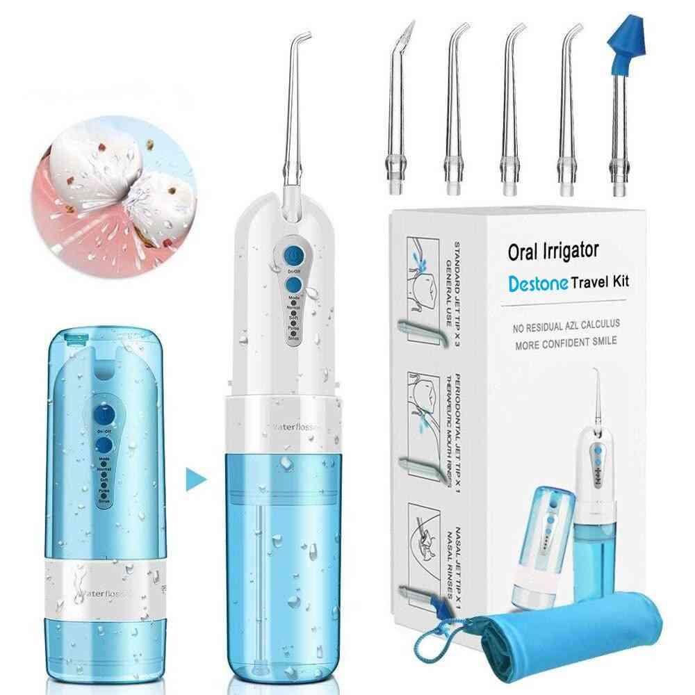 Cordless Oral Irrigator, Portable Water Dental Flosser
