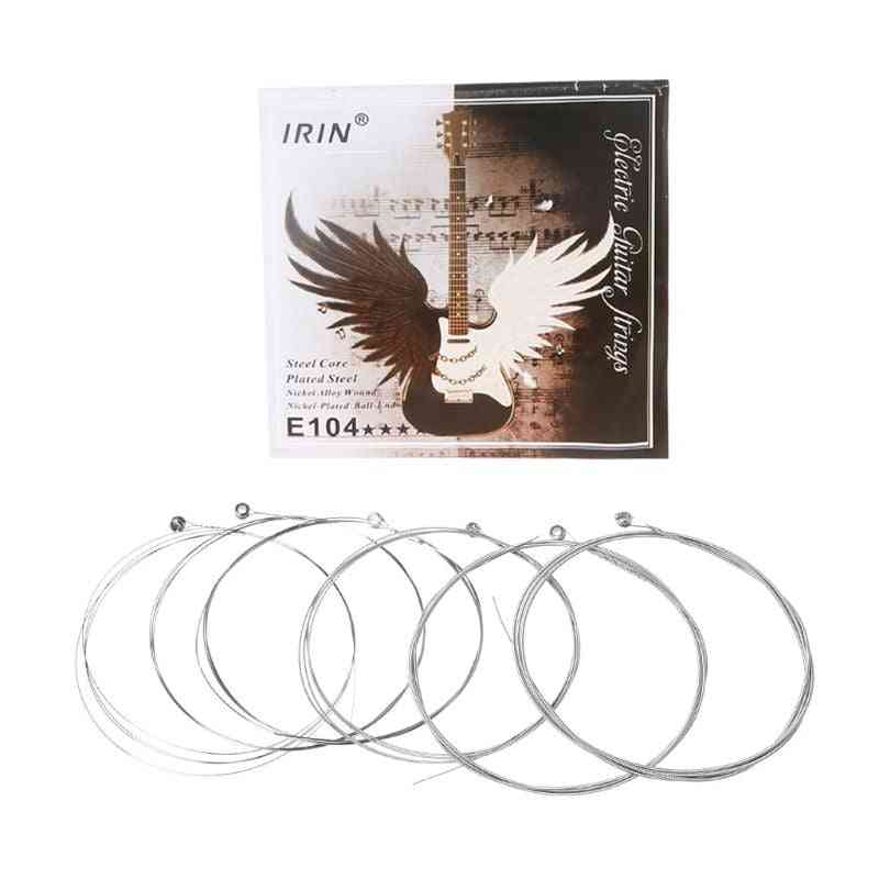 Electric Guitar Strings, Steel Core, Nickel Alloy Wound