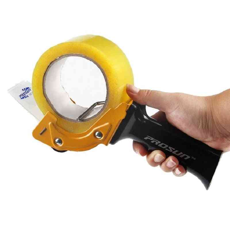 Heavy Duty Tape Gun Dispenser, Large Packing, Sealing, Cutter For Office Use, Warehouse Workers
