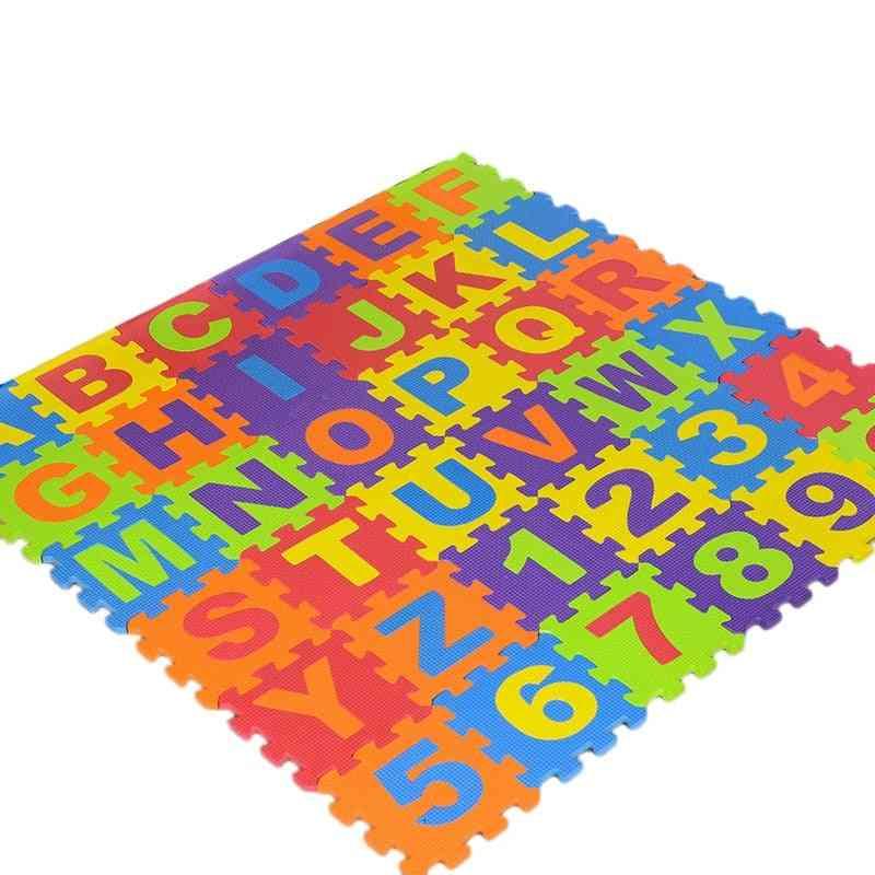 Letter Number Carpet Crawling Mats