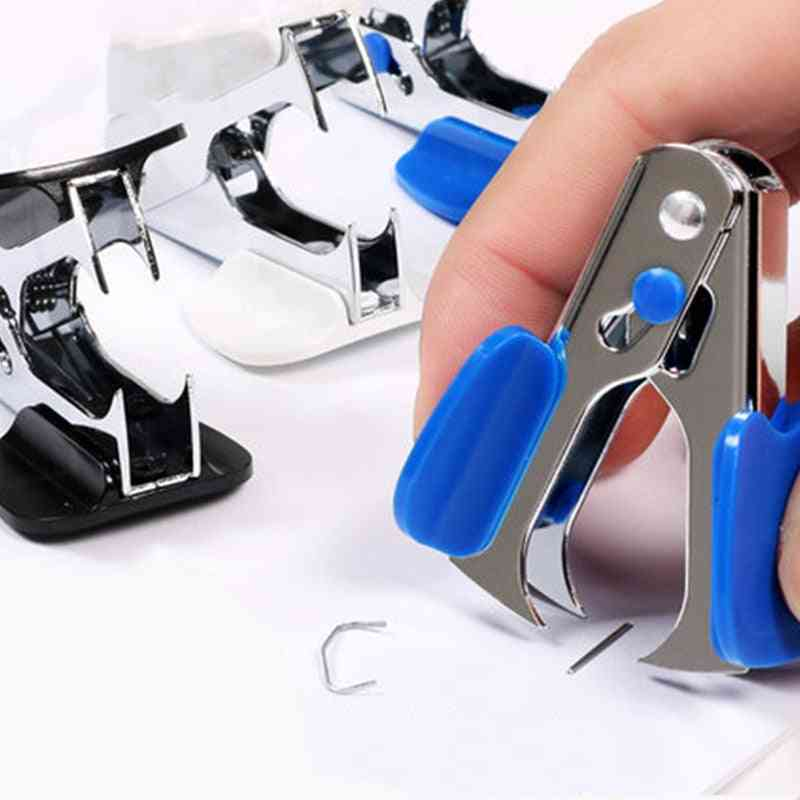 School Office Mini Staple Remover, Pliers Nail Puller, Pull Out Extractor