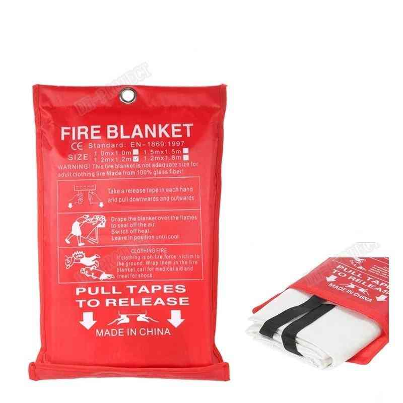 Sealed Fire Blanket Housing Safety Fire Extinguisher Tent Ship Emergency Life Shed Safety Cover