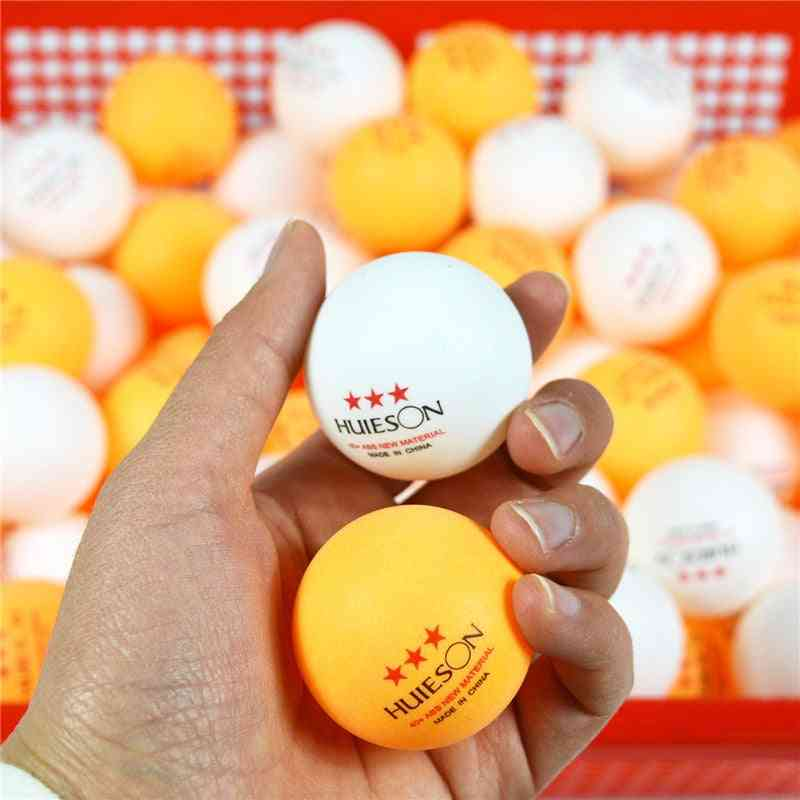 New Material English Marked 3 Star Table Tennis Balls Sets
