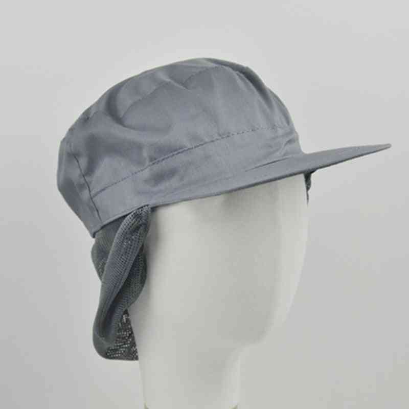 Unisex Cotton Mesh Caps, Kitchen Restaurant Workshop Caps