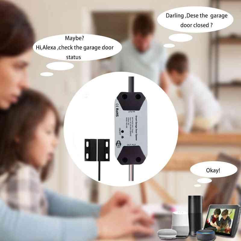 Wifi Smart Garage Door Remote Control Smart Switch Gate Parking System