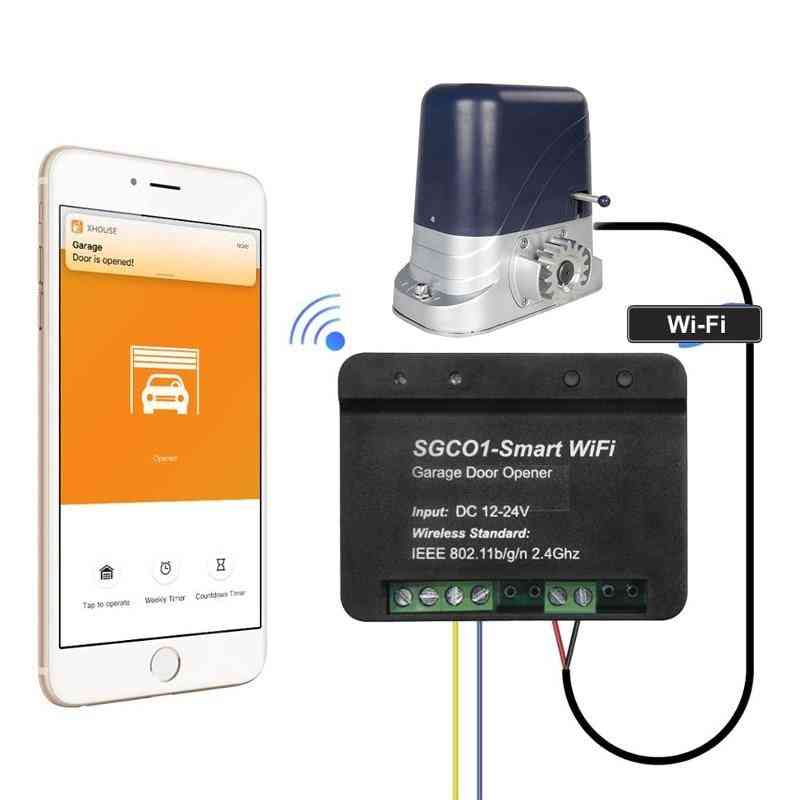 Newest Release Garage Door Opener Receiver Wifi Smart Receiver Use