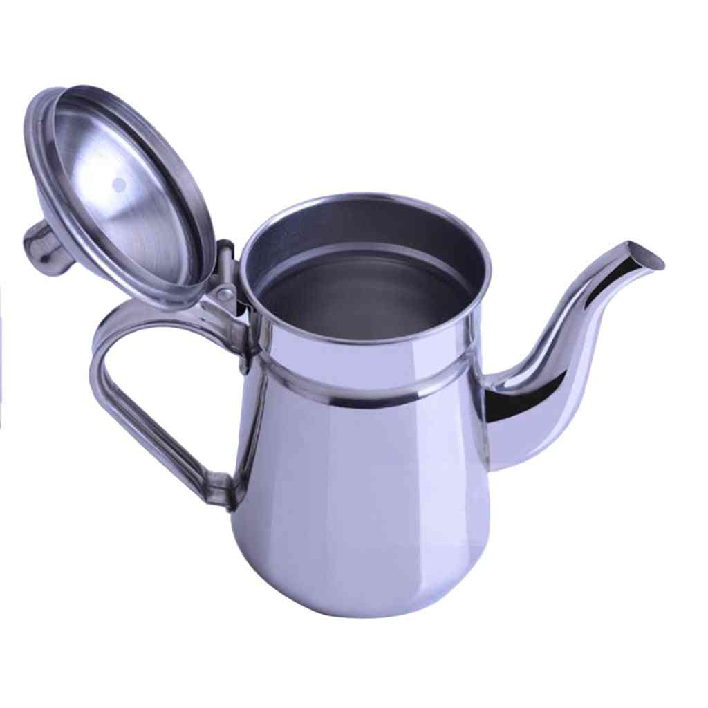Stainless Steel Cold Water Kettle Coffee Pot Teapot For Restaurant